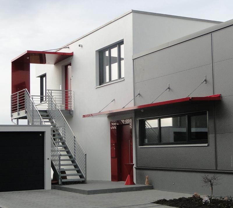 lagerhalle stahlbau b rogeb ude penthouse penthaus massivbau. Black Bedroom Furniture Sets. Home Design Ideas