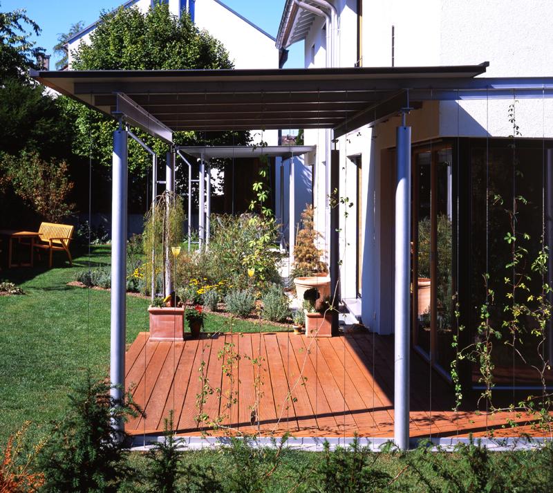 Vordach Terrassentür : Doppelhaus,zwei Generationen,generationen u00fcbergreifend