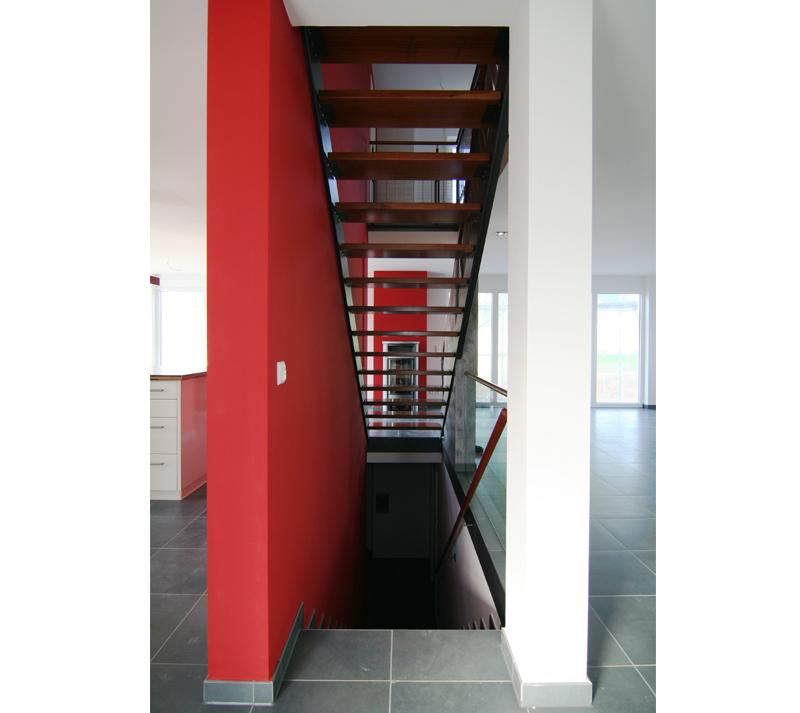 Feng Shui Treppe Im Wohnzimmer Grundriss Einfamilien WohnhausGrundriss