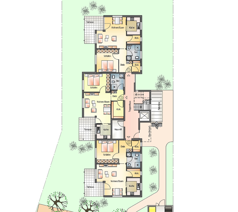 betreutes wohnen seniorenwohnen altenwohnen backnang waldrems. Black Bedroom Furniture Sets. Home Design Ideas
