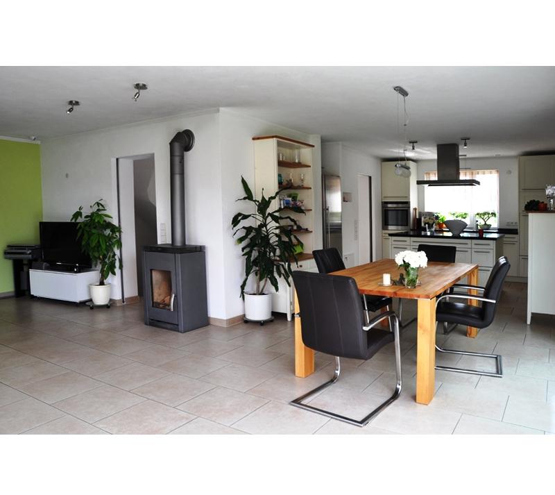 neubau doppelhaush lfte glasschiebet ren kochinsel eigenleistungen terrasse korb. Black Bedroom Furniture Sets. Home Design Ideas